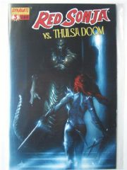 Red Sonja vs. Thulsa Doom #3 Dell'Otto Cover